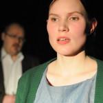 Rooleissa: Aksu Piippo ja Pauliina Nurmi Kuva: Eeva Ruokolainen