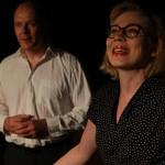 Rooleissa: Heidi Lakaniemi ja Eero Väätäinen