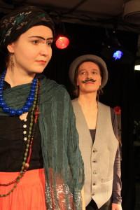 Rooleissa: Marjo Kuronen ja Leila Väisänen Kuva: Anu Rantanen