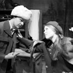 Rooleissa Emily Hallfast ja Henry Mäkisalo